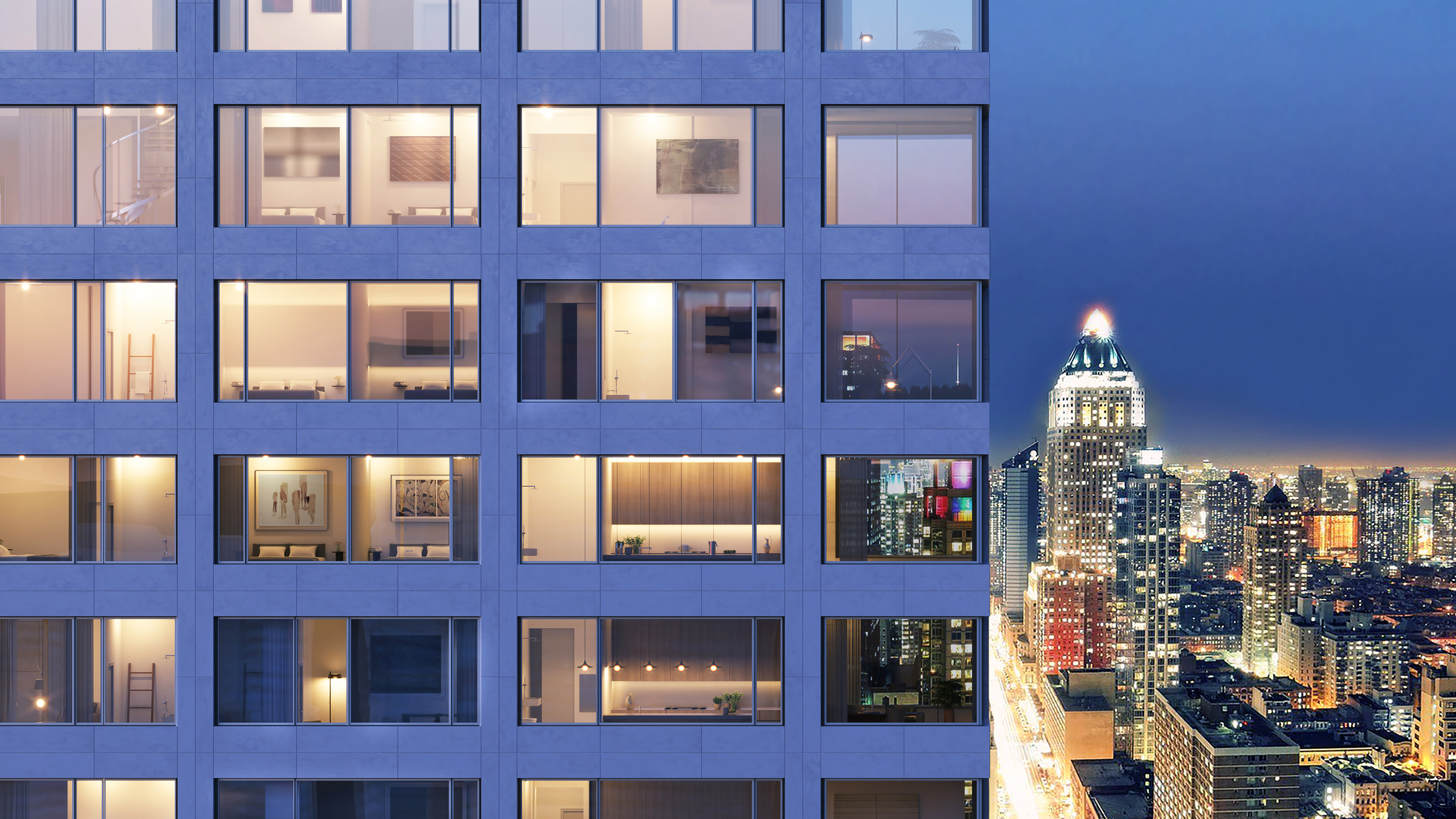 611 West 56 St city view